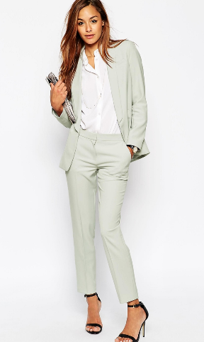 Asos grey suit