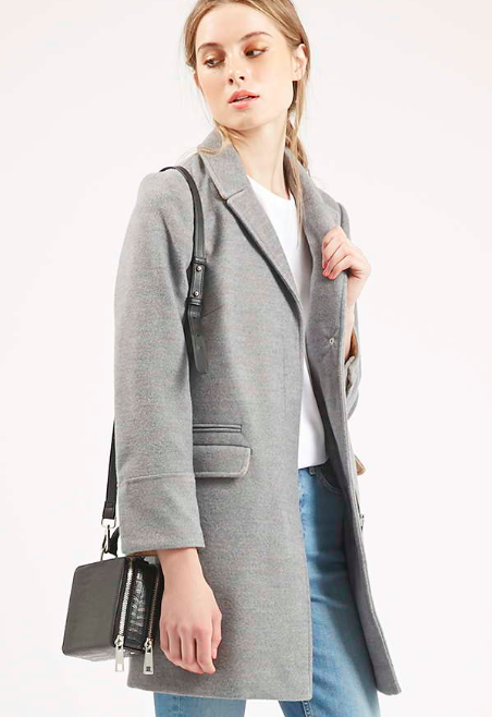 Topshop grey coat