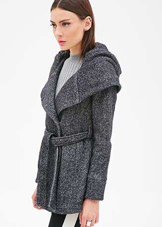 Forever 21 grey coat
