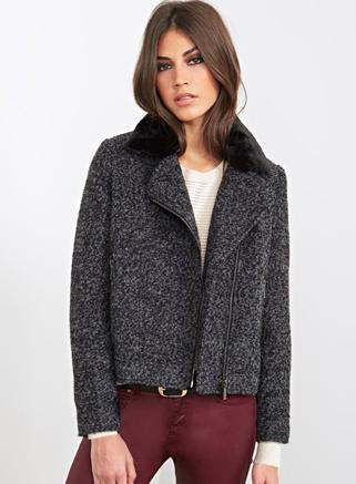 Forever 21 grey jacket
