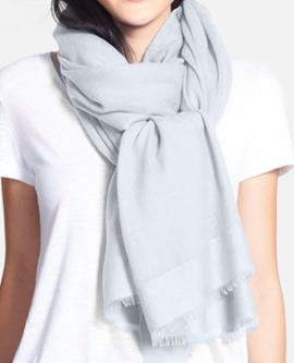 Summer cashmere scarf