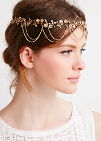 Forever 21 chain headband