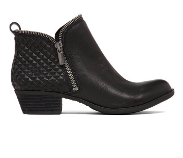 Lucky Brand studded black booties