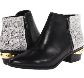 Sam Edelman black and studded bootie