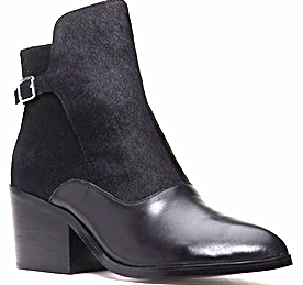 Forever 21 buckle booties
