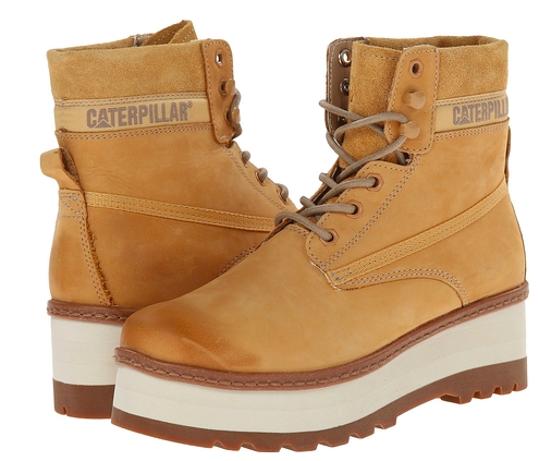 caterpillar booties