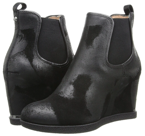 Donald J Pliner wedge booties