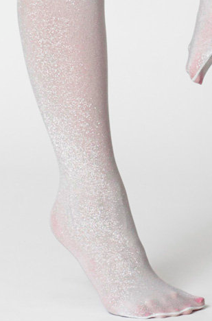 American Apparel sparkle tights