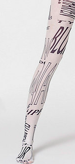 American Apparel graphic tights