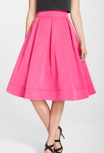 Eliza J full midi skirt