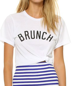Brunch graphic tee