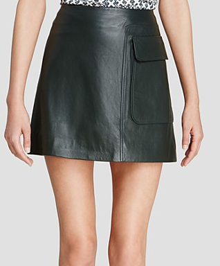 Tory Burch mini leather skirt