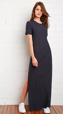 Forever 21 maxi tee dress