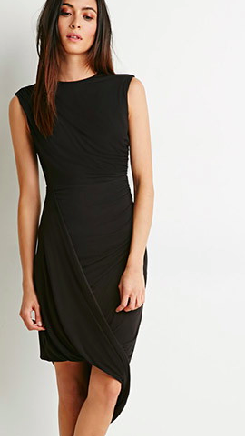 Forever 21 gathered dress