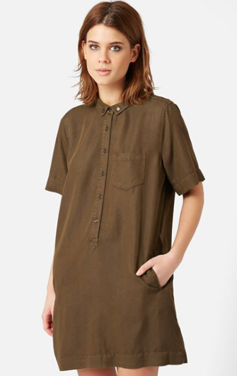 Topshop relaxed shirtdress