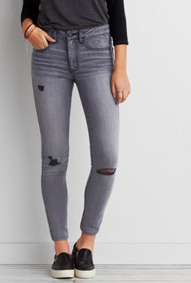 AE grey jeans