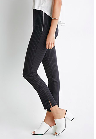 Forever 21 pinstripe pants