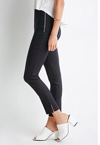 Forever 21 pinstripe pants