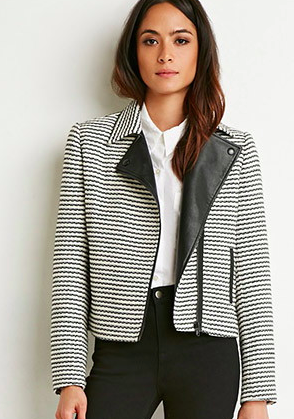 Forever 21 tweed jacket