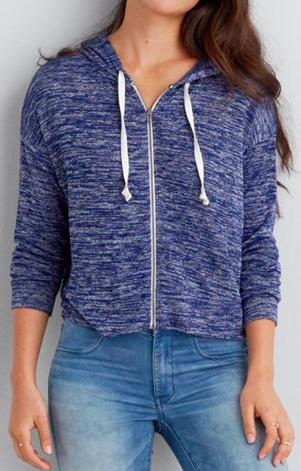 AE cropped hoodie