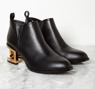 Forever 21 cut-out heel boot