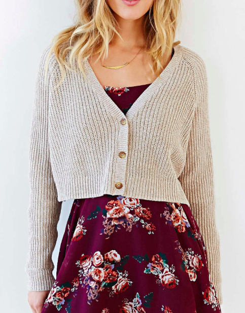 Urban Outfitters short cardigan