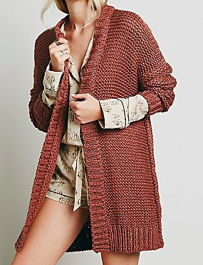 Free People Chunky Cardigan