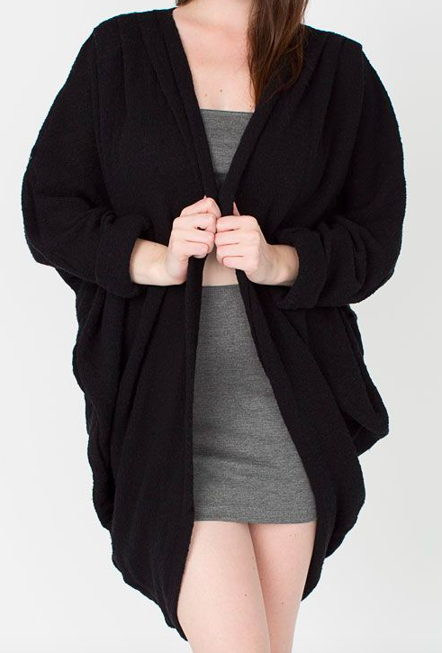 American Apparel Shawl Cardigan