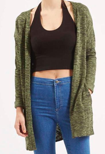 Topshop knit cardigan