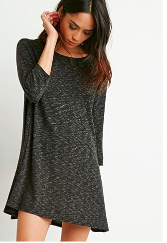 Forever 21 grey swing dress