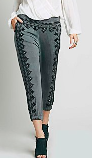 Free People grey trousers