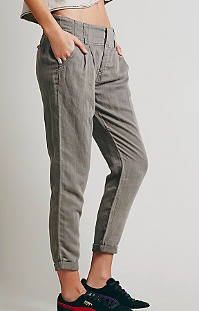 Free People relaxed grey pants