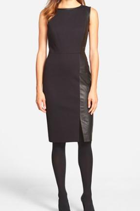 Classiques Entier leather dress