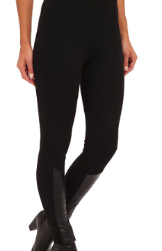 Ralph Lauren quilted leather leggings