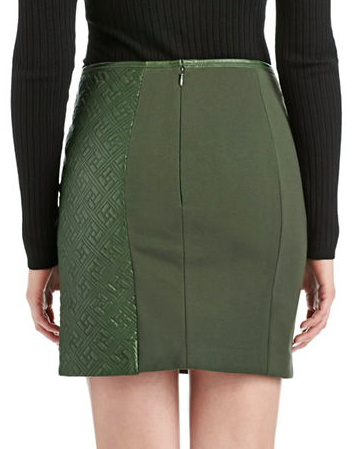 Catherine Maladrino leather skirt
