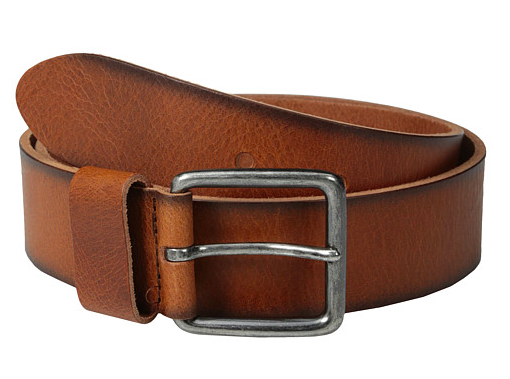 Cowboys leather belt