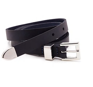 Forever 21 skinny leather belt