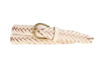 J.Crew braided belt