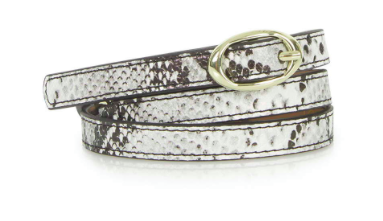 Topshop snakeskin belt