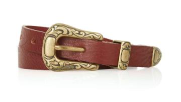 Tiptop western skinny belt