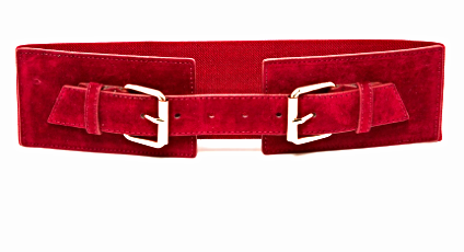 Warehouse suede belt