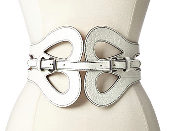BCBG white belt