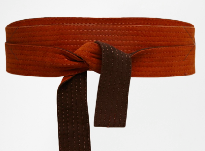 ASOS faux suede wrap belt