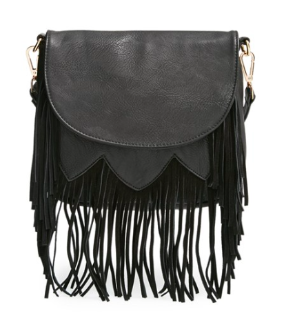 Sole Society black small cross body bag