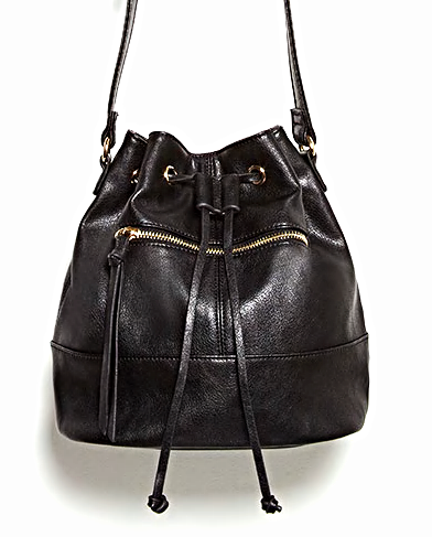 Forever 21 small bucket cross body bag