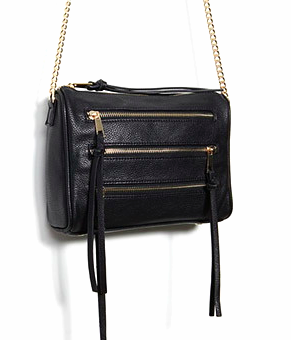Forever 21 zippered small cross body