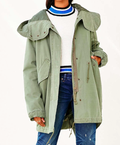 Urban Outfitters oversized parka