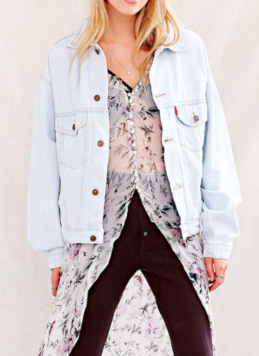 Urban Outfitters oversized denim jacket