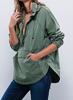 Free People pullover jacket