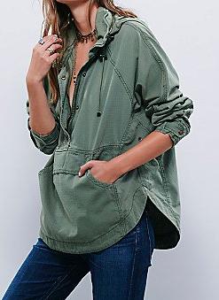 Free People pullover jacket